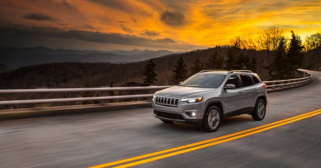 2019 Jeep Cherokee facelift