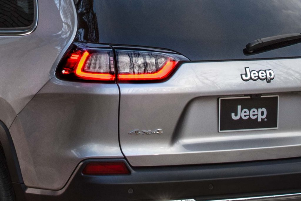 2019 Jeep Cherokee facelift