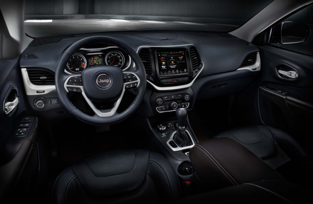 2014 Jeep Cherokee Limited - interior