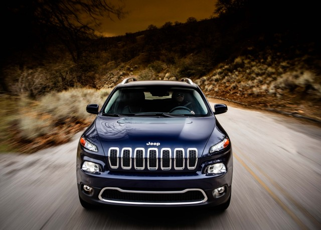 2014 Jeep Cherokee Limited - nose