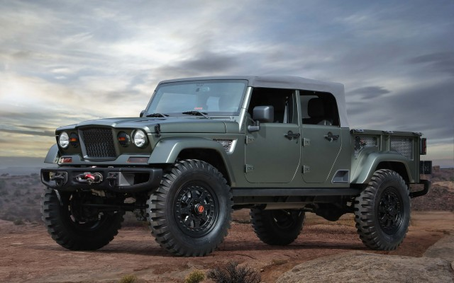 Jeep Crew Chief 715 concept - front