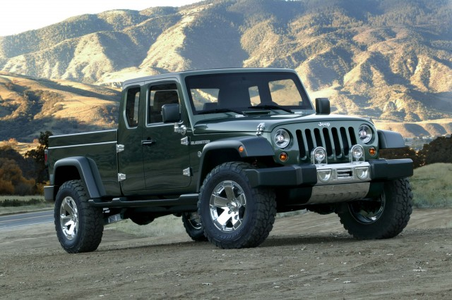 2005 Jeep Gladiator concept - front
