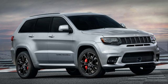 Perfect 2017 Jeep Grand Cherokee SRT   Front, Silver