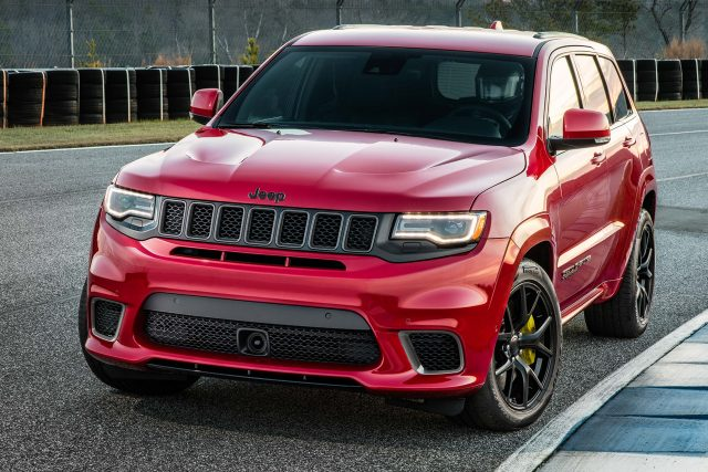 Jeep Grand Cherokee Trackhawk (2018, WK2, fourth ...