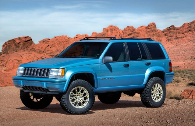 Jeep Grand One concept (2017, ZJ, Grand Cherokee) photos | Between