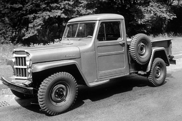 1954 Jeep 4WD 1-Ton Pickup Truck