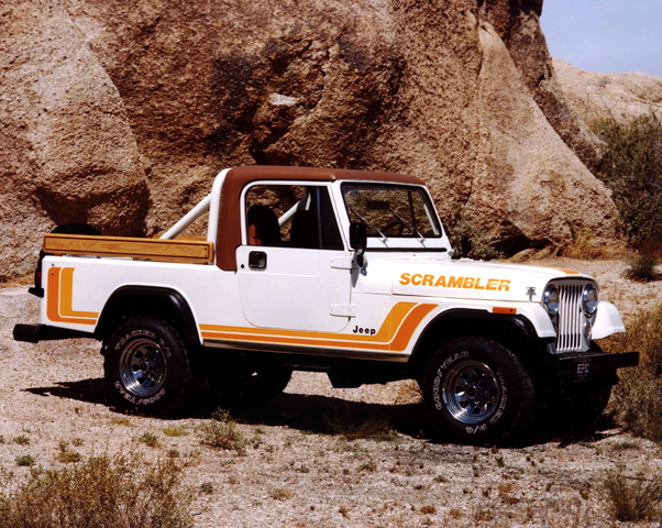 1982 Jeep CJ-8 Scrambler