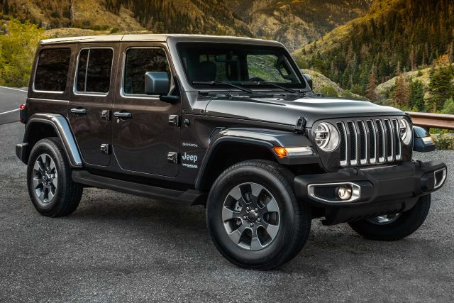 Jeep Wrangler Sahara 4-door (2018, JL, fourth generation ...