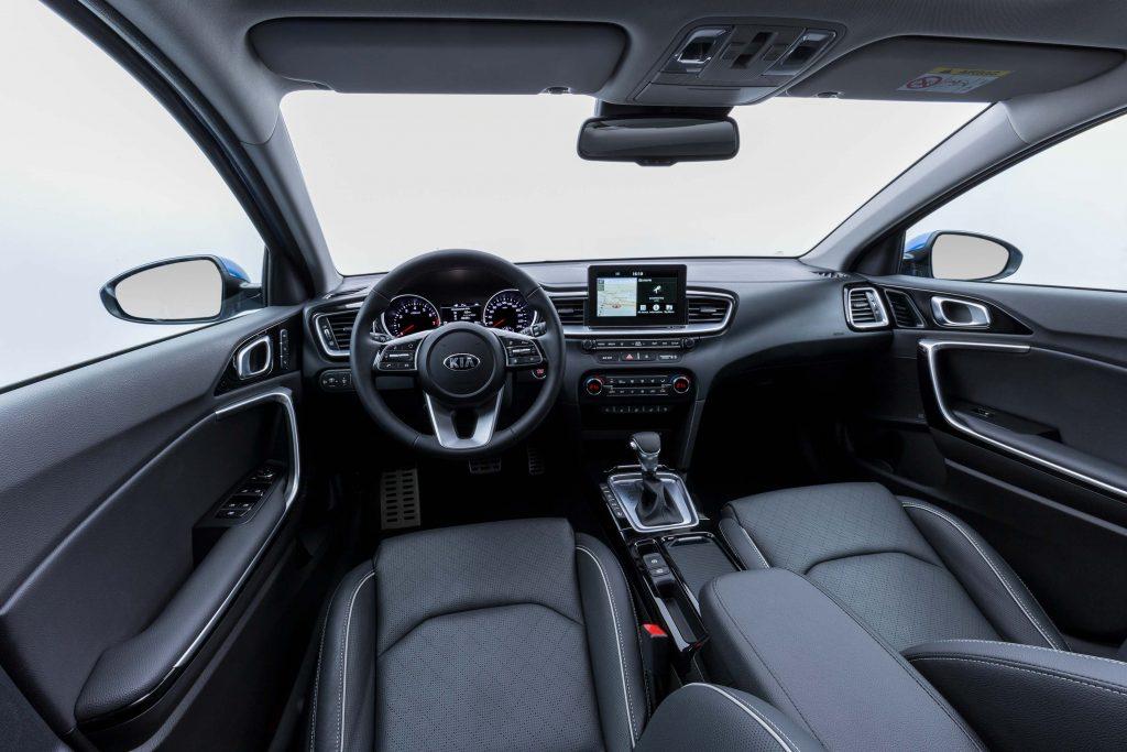 2018 Kia Ceed - interior, dashboard