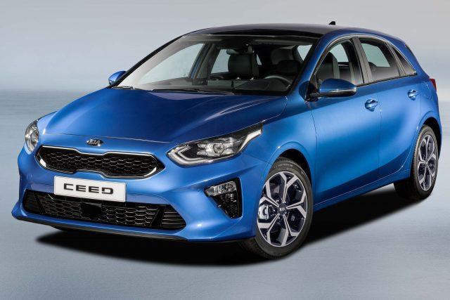 2018 Kia Ceed - front, blue
