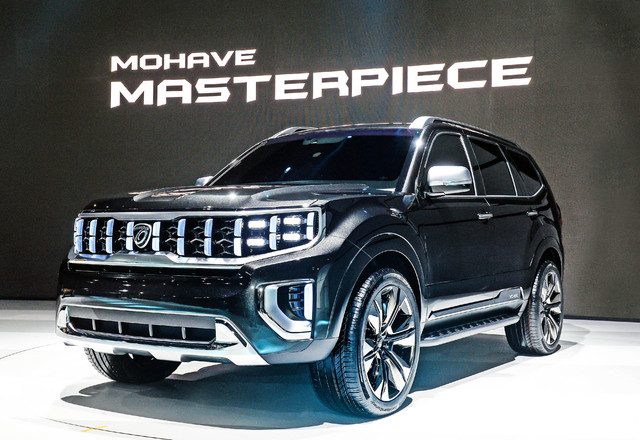 2019 Kia Mohave Masterpiece concept