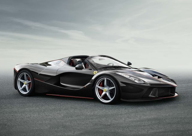 LaFerrari convertible - front