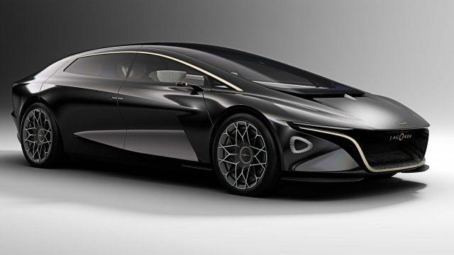 Lagonda Vision Concept - front