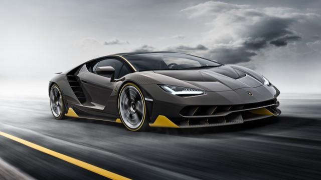 Lamborghini Centenario - front, action
