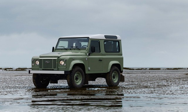 Land Rover Defender 2015 Special Editions - 3 door, front