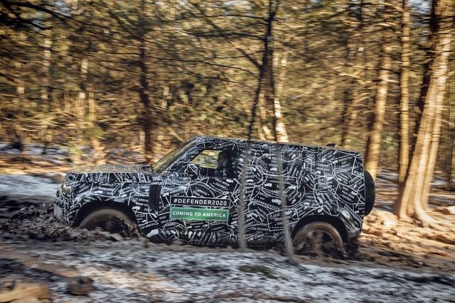 2020 Land Rover Defender prototype (L663)