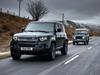 2021 Land Rover Defender 90 V8 with Heritage Defender Model