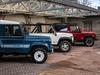 Land Rover Defender V8 heritage models