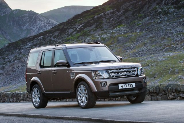 2015 Land Rover Discovery 4 - front