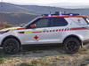2018 Land Rover Discovery Red Cross mobile command center