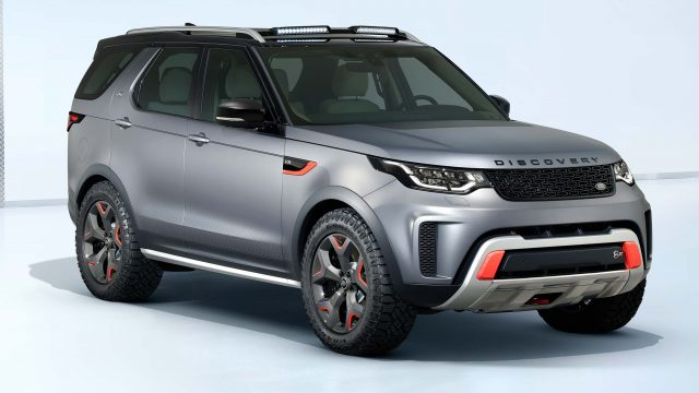 2018 Land Rover Discovery SVX - front