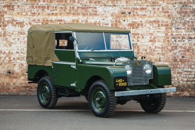1948 Land Rover Series I Reborn - front
