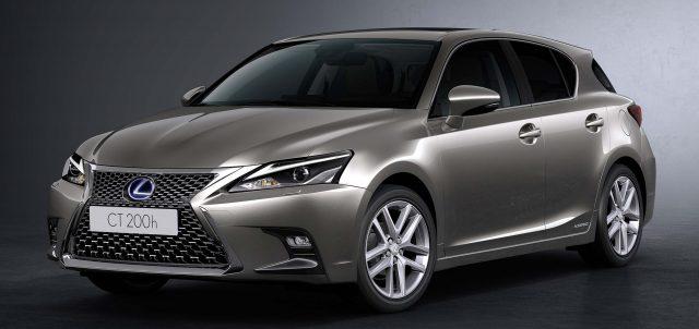 2018 Lexus CT200h facelift - front, gray