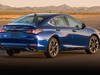 2019 Lexus ES350 F-Sport - rear, blue