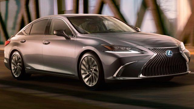 2019 Lexus ES - front
