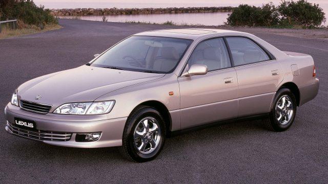 1999 Lexus ES300 update - front