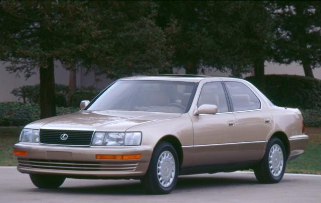 XF10 Lexus LS (LS400) - two tone, front