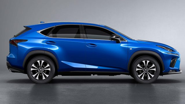 2018 Lexus NX F-Sport facelift - side