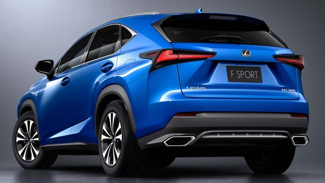 2018 Lexus NX F-Sport facelift - rear