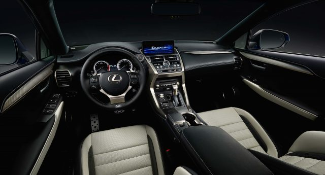 2018 Lexus NX facelift - interior, dashboard