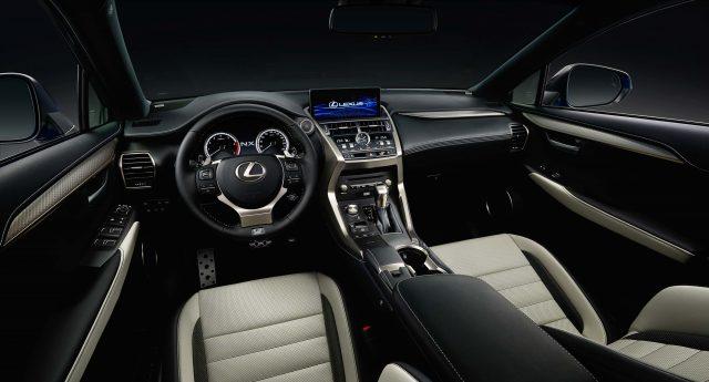 2018 Lexus NX facelift - interior, dashboard