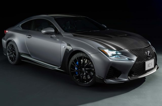 2018 Lexus RC F 10th Anniversary Limited Edition - front