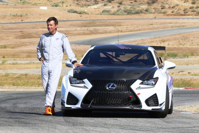 Lexus RC F GT Concept for 2015 Pikes Peak Hill Climb - with Justin Bell, driver