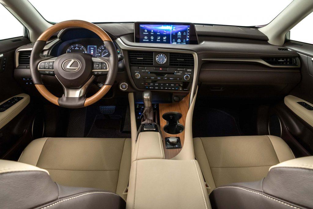 2018 Lexus RX350L - interior, dashboard