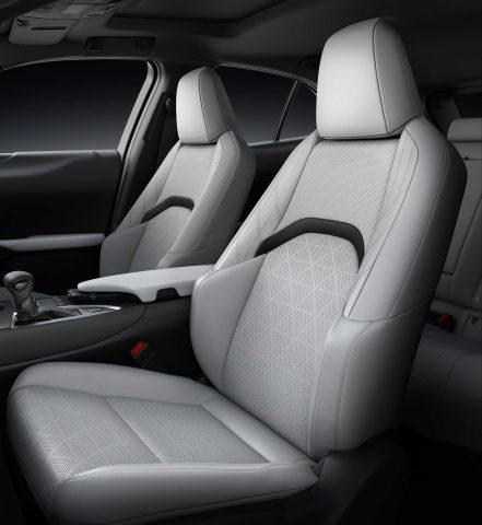 2018 Lexus UX200 - front seats