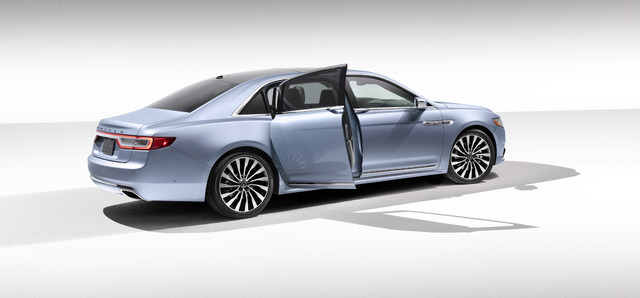 Lincoln Continental Coach Door 80th Anniversary Edition