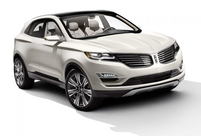 Lincoln MKC Concept - front