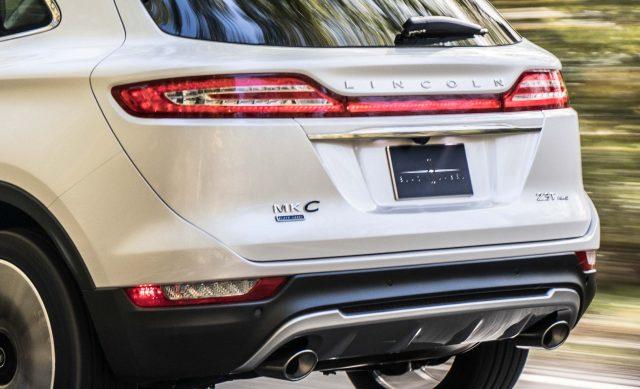 2019 Lincoln MKC facelift