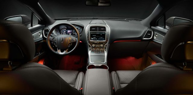 2016 Lincoln MKX Black Label Muse interior