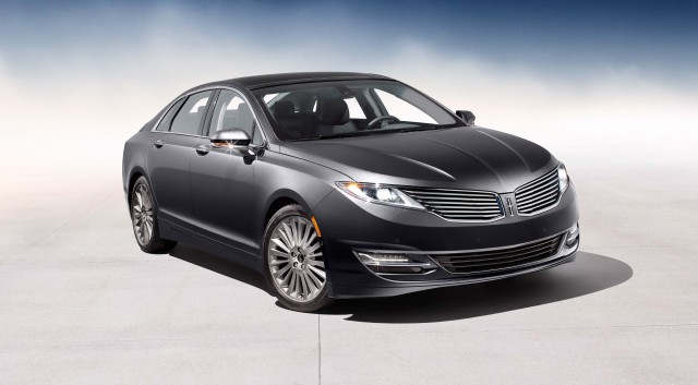 2017 Lincoln Mkz Front