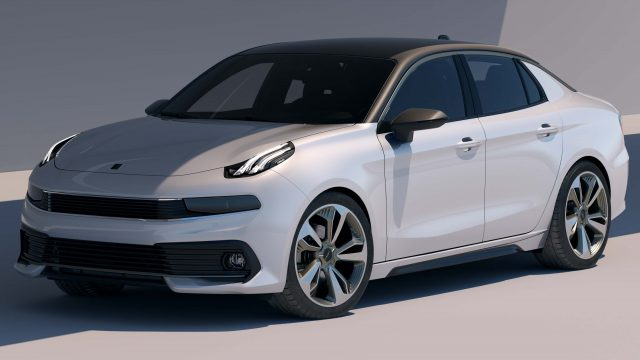 Lynk & Co 03 Concept - front, white