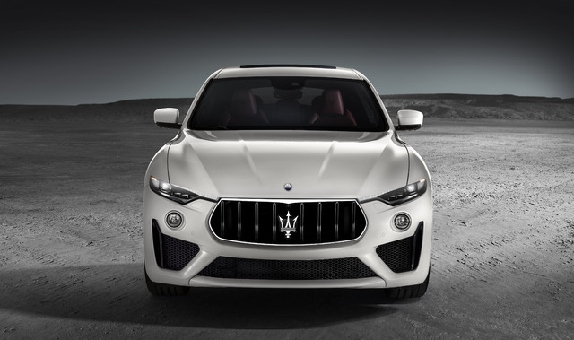 2019 Maserati Levante GTS - front, white