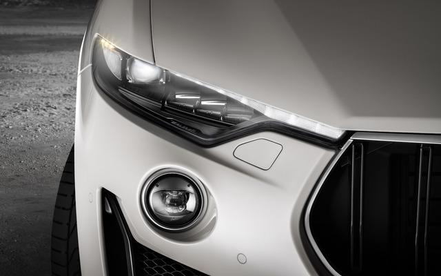2019 Maserati Levante GTS - headlamps