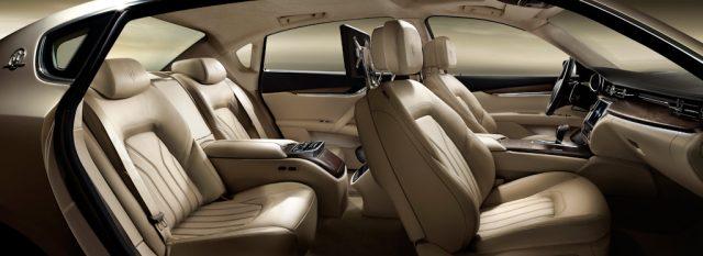 M156 Maserati Quattroporte - front and rear seats