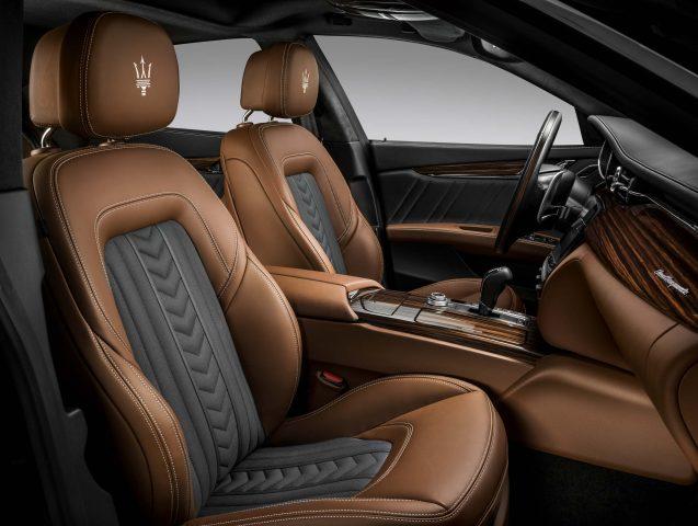 2016 M156 Maserati Quattroporte SQ4 facelift - front seats