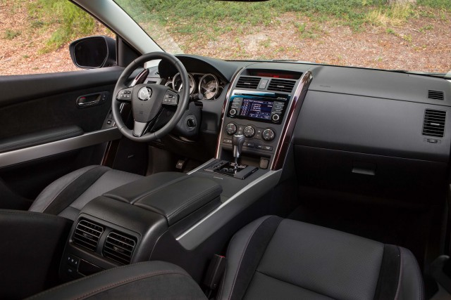 TB Mazda CX-9 2013 facelift - interior